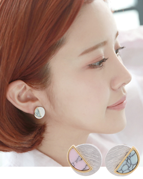 파스텔레몬 귀걸이 (er1698)
